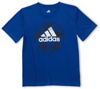adidas Boys 8-20) Soccer Short Sleeve Jersey Tee