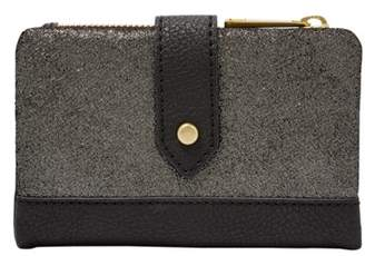 Fossil Lainie Multifunction Wallet Pewter