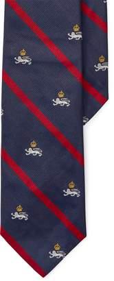 Ralph Lauren Silk Twill Narrow Club Tie