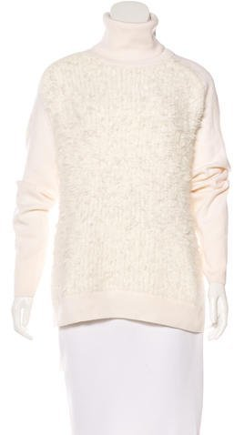 3.1 Phillip Lim 3.1 Phillip Lim Wool & Angora-Blend Turtleneck Sweater