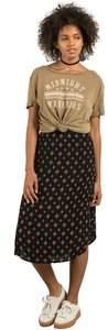 Volcom Women's Champain Trail All Over Print Midi Length Skirt
