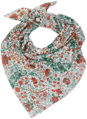 Paco Rabanne metal scarf