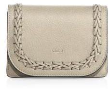 Chloé Chloe Hudson Small Leather Wallet