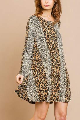 Umgee USA Animal Print Dress