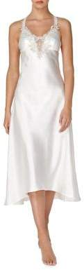 Flora Nikrooz Flora By Satin Embroidered Nightgown