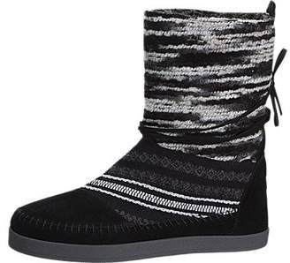 Toms Nepal Boots Suede Textile Mix 10006219 Womens 8