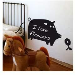 ADzif ADZif Memo Pig Chalkboard Wall Decal
