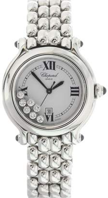Chopard Happy Sport 8236 Stainless Steel with Floating Diamonds Dial 32mm Womens Watch