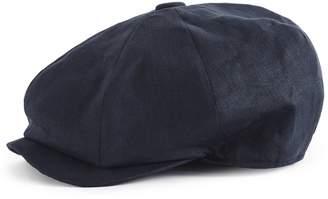Reiss Toby Christy's Linen Flat Cap