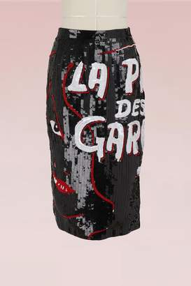 Olympia Le-Tan Olympia Le Tan La pire des garces skirt with sequins