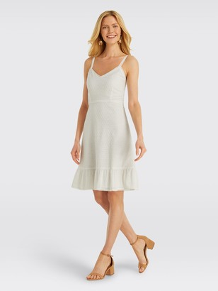 Draper James Collection Eyelet Flounce Dress