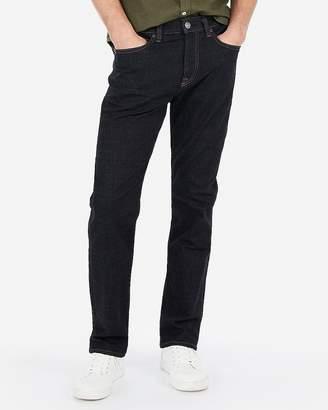 Express Classic Straight Tough Dark Wash Hyper Stretch Jeans