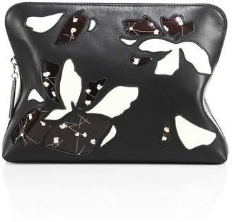 3.1 Phillip Lim Minute Leather Cosmetic Zip Case