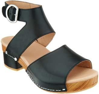 Dansko Leather Heeled Sandals - Minka