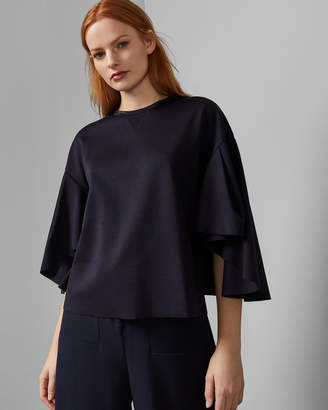 Ted Baker EMIAYA Relaxed fit flow sleeve top