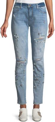 Driftwood Beau Pearlescent Boyfriend Jeans