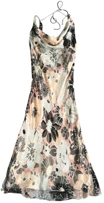Jenny Packham Pink Silk Dress for Women