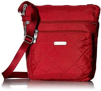 Baggallini Quilted Pocket Crossbody with Rfid