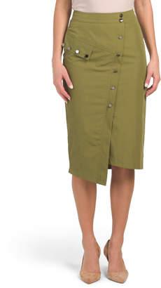 Wrap Style Utility Skirt