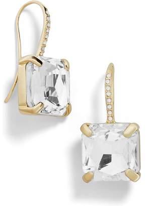 BaubleBar Square Crystal Drop Earrings