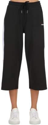 Richelle Cropped Wide Leg Sweatpants