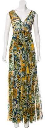 Dolce & Gabbana Sleeveless Maxi Dress