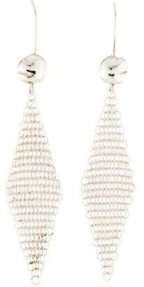 Peretti Mini Mesh Earrings silver Peretti Mini Mesh Earrings