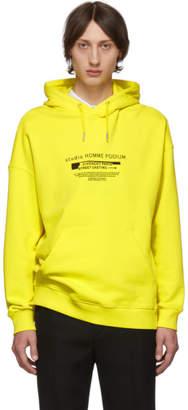 Givenchy Yellow Homme Podium Sweatshirt