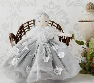 Pottery Barn Kids Monique Lhuillier Designer Doll Girl Blue- Annabelle
