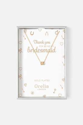 Orelia Bridesmaid Necklace