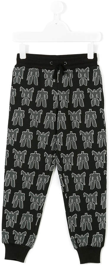 Moschino Kids Jogginghose mit Transformer-Print
