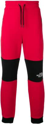 The North Face bicolour track trousers