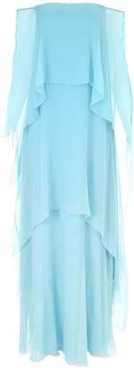 Alberta Ferretti Long Silk Dress