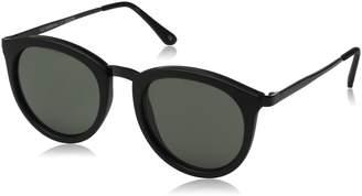Le Specs Women's No Smirking Sunglasses, /Khaki Mono