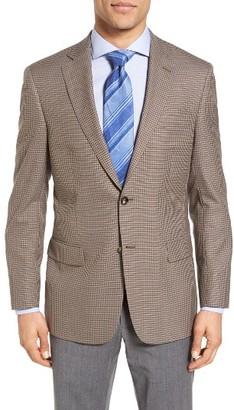 Men's Hart Schaffner Marx Classic Fit Check Wool Blend Sport Coat $495 thestylecure.com