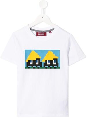 Mostly Heard Rarely Seen 8-Bit Yellow Hats 8-bit T-shirt