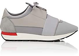 Balenciaga Men's Race Runner Sneakers - Gray