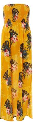 Dorothy Perkins Womens *Dp Beach Yellow Floral Print Maxi Dress