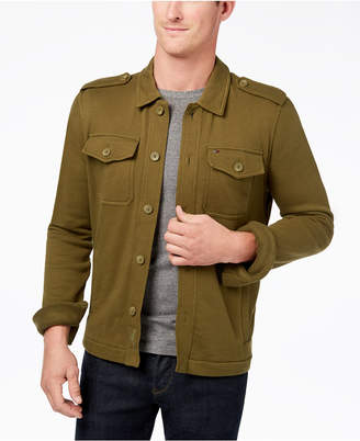 Tommy Hilfiger Men's Ernie Utility Shirt Jacket