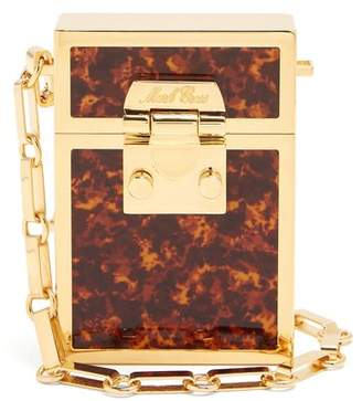 Mark Cross Nicole Tortoiseshell Enamelled Gold Plated Bag - Womens - Tortoiseshell