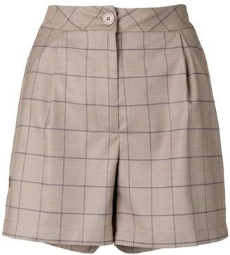 Han Kjobenhavn windowpane shorts