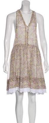 Philosophy di Lorenzo Serafini Floral Print Knee-Length Dress