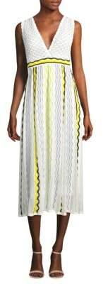M Missoni Ribbon Wave Stripe Dress