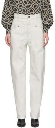 Isabel Marant Off-White Lenie Jeans