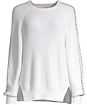 Joie Women's Daxton Studded Knit Pullover