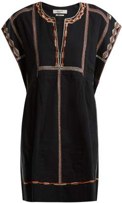 Etoile Isabel Marant Belissa embroidered cotton dress