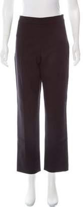 Arabella Rani Mid-Rise Straight-Leg Pants