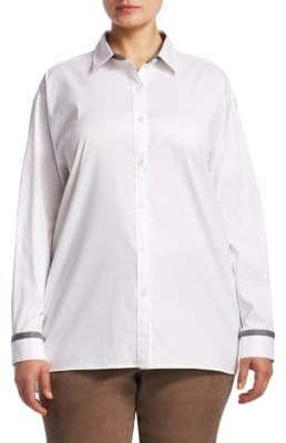 Plus Jessie Embellished Blouse