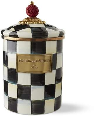 Williams-Sonoma MacKenzie-Childs Courtly Check Canister