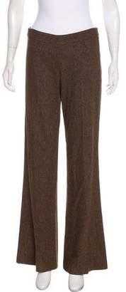 Theory Virgin Wool Wide-Leg Pants